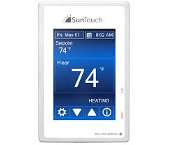 programmable thermostats floor heating thermostats