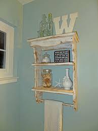 Bathroom Wall Cabinets With Towel Bar by Bathroom Wall Shelves Realie Org