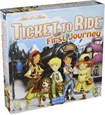 Fantasy Flight Games Ticket To Ride Europe First Journey Board