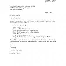I 129f Cover Letter Resume Ideas