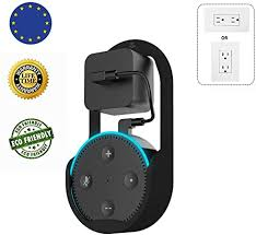 misha echo dot lautsprecher wandhalterung der zweiten generation geeignet für küche bad und schlafzimmer zusatzausrüstung schwarz