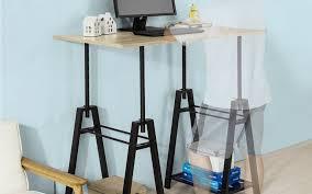bureau à hauteur variable protéger dos avec un bureau réglable en hauteur le parisien