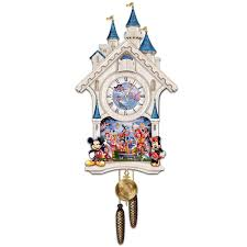 Disney Character Bathroom Sets by Amazon Com Disney Character Cuckoo Clock Happiest Of Times By