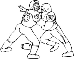 Printable Football Player Coloring Pages Me