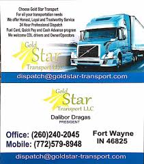 Gold Star Transport ,LLC - Home | Facebook