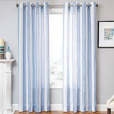 Bed Bath And Beyond Semi Sheer Curtains by Marina Window Curtain Panel Bed Bath U0026 Beyond