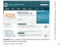us federal trade commission bureau of consumer protection electronic commerce tenth edition ppt