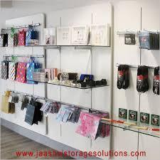 Wall Fitting Showroom Garments Display Racks Manufacturers Ludhiana Punjab India