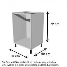 küchenunterschrank 60x50x72