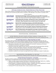 Impressive Resume Samples Executive 3 1