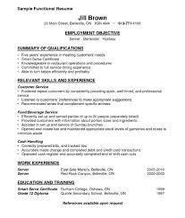 Unbelievable Sample Waitress Resume Examples For Server Cv Example Resumes Waitressesume Samples