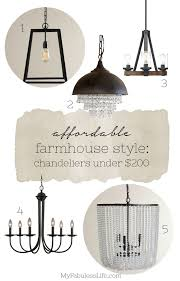inexpensive farmhouse lighting my fabuless