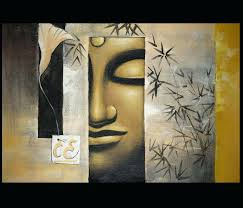 Well Liked India Abstract Metal Wall Art Regarding Arts Buddha Amazon