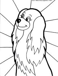 Coloring Pages Of Dogs And Cats Printable Colouring Dog Cat Free Pictures