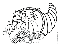 Preschool Thanksgiving Coloring Pages Free Printable Kids Splat Cat Full Size
