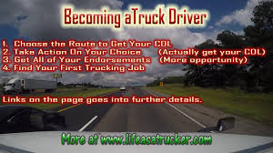 Becoming A Trucker How Long Does It Take To Become A Commercial Truck Driver 5 Reasons Become Western School To A Practical Tips Insights Cdl Roadmaster Drivers On Vimeo Am I Too Old The Official Blog Of Drivesafe Act Would Lower Age Professional Truck Driver For Females Looking Want Life The Open Road Heres What Its Like Be No Experience Need Youtube Driving Careers With Hayes Transport Put You And Your Family First Becoming Trucker
