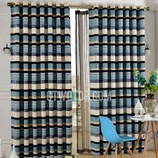 Navy And White Striped Curtains Uk by Navy Striped Curtains Curtain Design Ideas