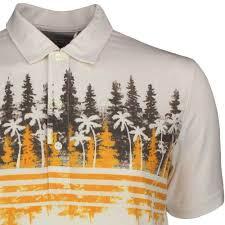 100 Le Pines PUMA Golf Shirt Play Loose Polo Chocolate LE SS19