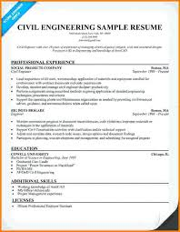 Sample Resume For Civil Engineers Entry Level Engineer Example O Great