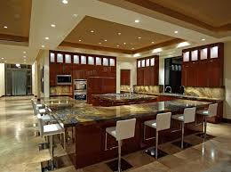 Design The Biggest Island You Can Then Add Another One For Good Measure Anyone Say Kitchen Party