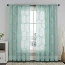 aurora home mix match curtains blackout and muji sheer 84 inch