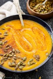 Pumpkin Butternut Squash Soup Vegan by Roasted Butternut Squash And Pumpkin Soup Recipe Runner