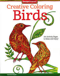 Creative Coloring Birds Front Cover