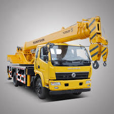 Diesel Hydraulic Lattice Boom Truck Crane 10 Ton - Buy Truck Crane ...