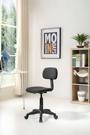 Mainstays Desk Chair Multiple Colors Blue by Amazon Com Hodedah Armless Task Chair With Adjustable Height And