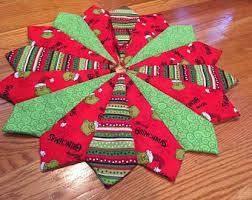 The Grinch Christmas Tree Star by Christmas Tree Skirt 26 Inch Diameter Mini Tree Skirt Star