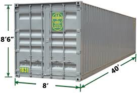 100 Shipping Containers 40 Ft Storage
