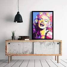 100 Pop Art Home Decor Marilyn Monroe Wall Frames Wall Frame
