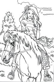 Full Image For Horse And Rider Printable Coloring Pages Sheets Adults Mustang