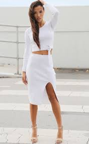best white crop top and skirt set photos 2017 u2013 blue maize
