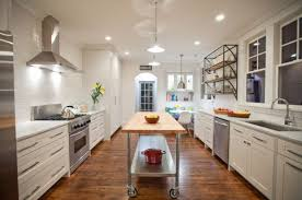 Image Of Narrow Kitchen Island Ideas