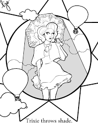 Trixie The Halloween Fairy Pages by The Coloring Book Trixie Mattel The Art Of Drag Pinterest