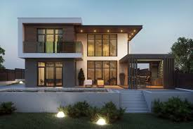 100 Modern Stucco House Flat Roof Home Designs Top NJ New Home Builder