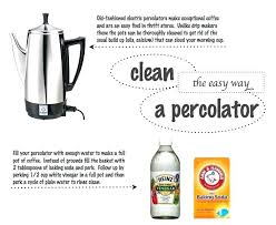 Percolator Cleaner How To Clean An Electric Coffee Dip It Use Maker Percolators