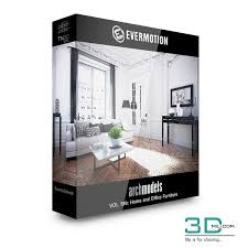 Evermotion Archmodels Vol 199 Home And Office Furniture