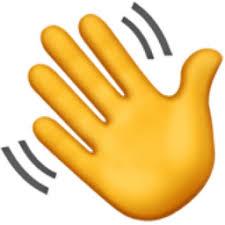 Emoji Information Waving Hand