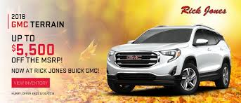 Rick Jones Buick GMC - Buick GMC Dealer Oklahoma City