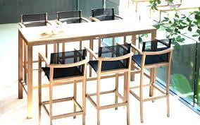 table de cuisine haute avec tabouret tabouret de table haute engageant table haute et tabouret charmant