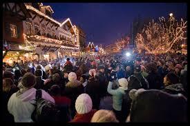 Christmas tree lighting in Leavenworth Wa Urban Life & Travel
