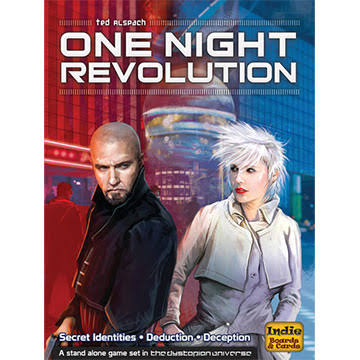 Indie Boards and Cards One Night Revolution Card Game