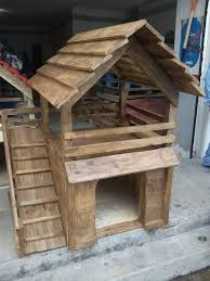 Top Dog Houses With Pallet Wood Projects
