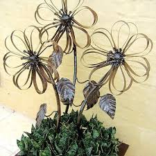 183 Best Garden Art Metal Plants Images On Pinterest