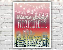 Home Sweet Apartment Prints First Decor