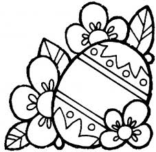 Easter Bunny And Eggs Coloring Pages 10