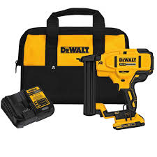 DeWalt DCN681D1 20V Max XR 18 Ga Narrow Crown Stapler Kit