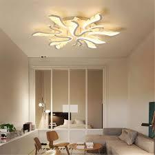 Three Circle Spiral Raindrop Chandelier Ceiling Lights
